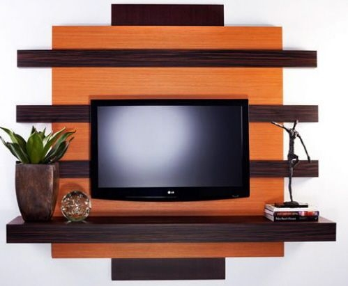 Innovative Premium Wall Mounted TV Stands With Shelves With 25 Best Mounting Tv On Wall Ideas On Pinterest Hanging Tv On (Image 39 of 50)
