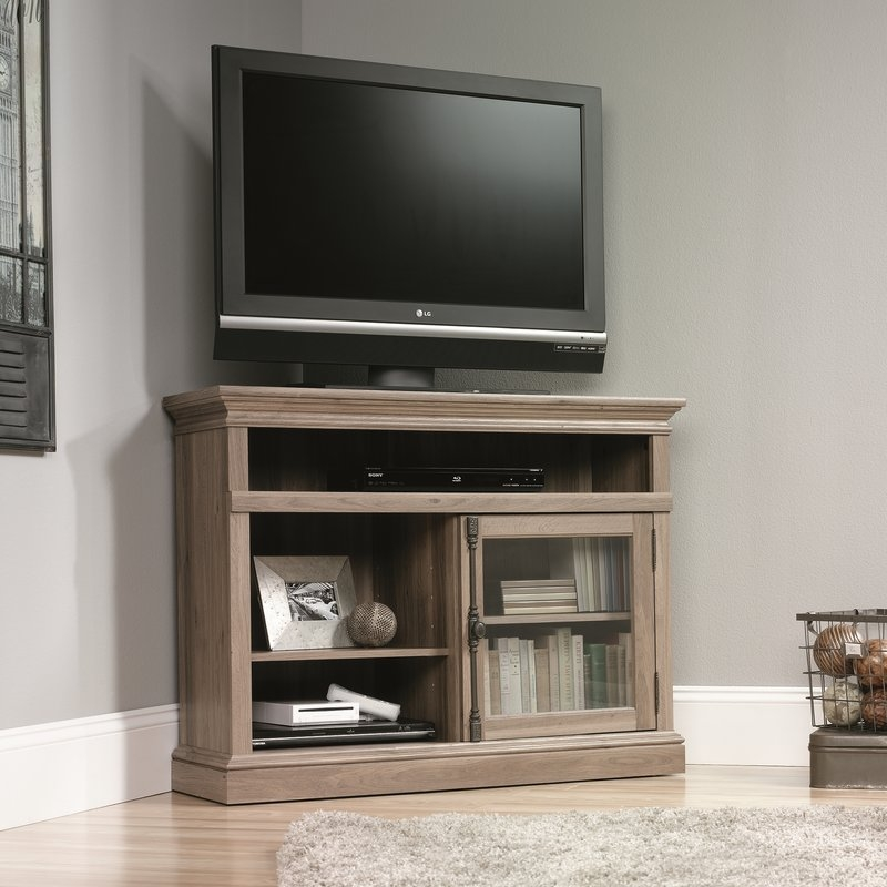 Innovative Premium Wayfair Corner TV Stands Within Three Posts Cicero Corner 43 Tv Stand Reviews Wayfair (View 32 of 50)