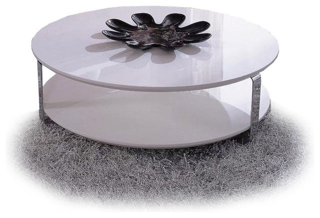 Innovative Premium White Circle Coffee Tables In Coffee Table Round Australia (Image 31 of 50)
