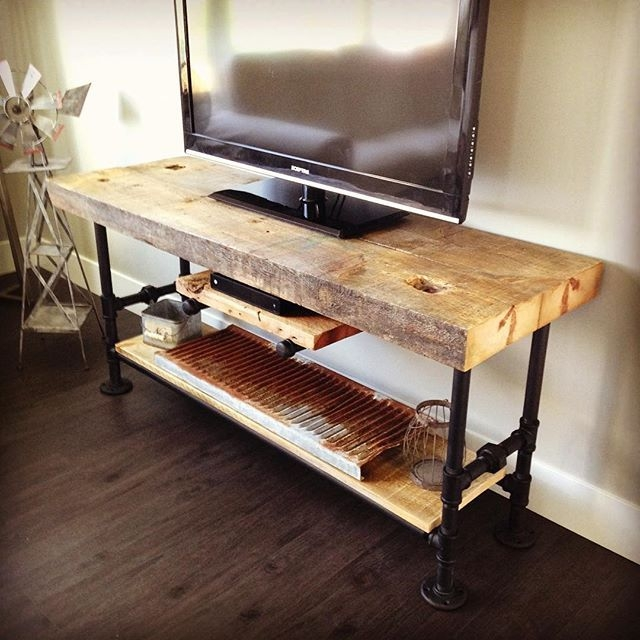 Innovative Series Of Cast Iron TV Stands With Best 20 Industrial Tv Stand Ideas On Pinterest Industrial Media (Image 28 of 50)