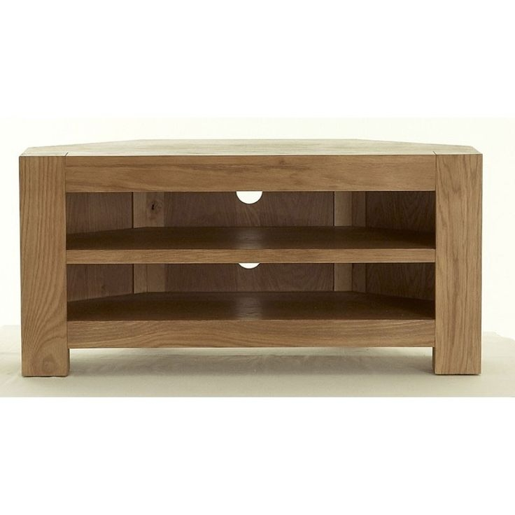 Innovative Series Of Chunky TV Cabinets Throughout Best 25 Oak Corner Tv Stand Ideas On Pinterest Corner Tv (Image 25 of 50)