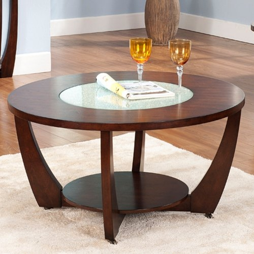 Innovative Series Of Circular Coffee Tables Intended For Wood Glass Coffee Table (View 31 of 40)