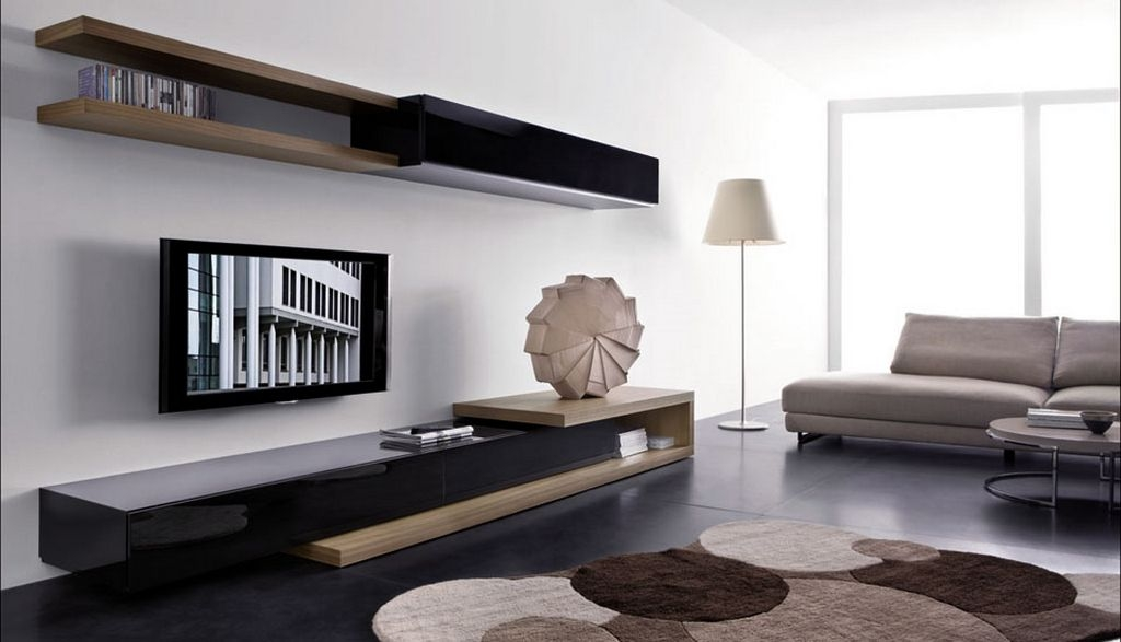 Innovative Series Of Modern Wall Mount TV Stands Within Wall Mounted Tv Cabinets White Wooden Wall Mount Tv Cabinets With (Image 32 of 50)