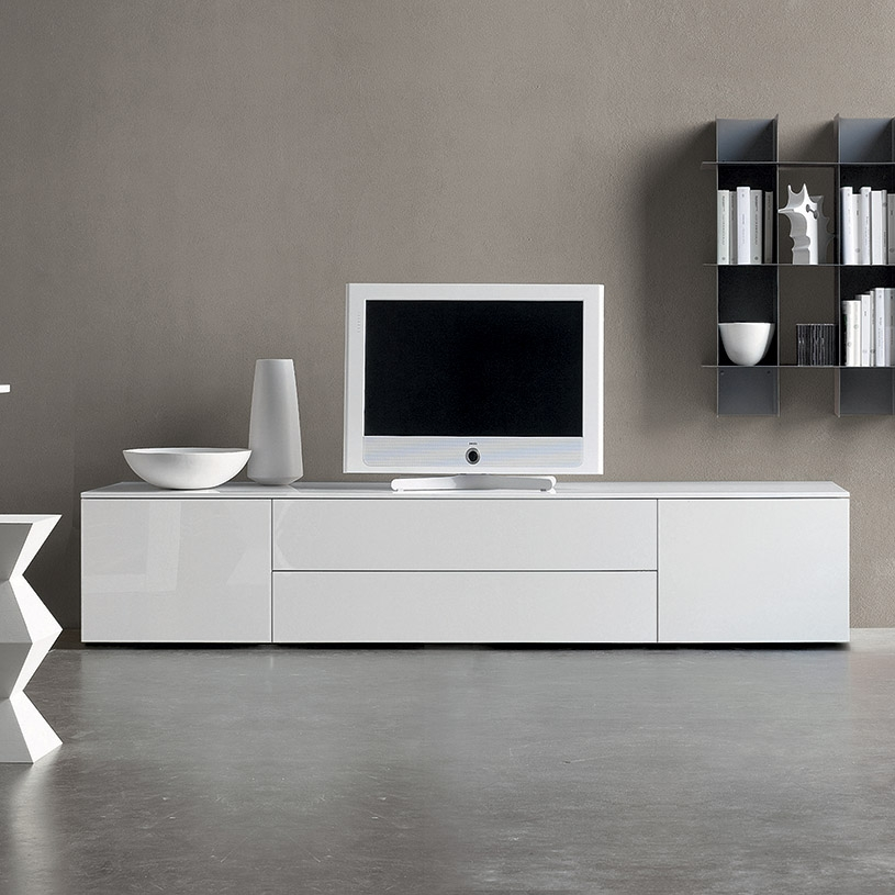 Innovative Series Of Modern White Gloss TV Stands With Regard To Tv Units Our Tv Stands And Media Benches Give You A Tidy Home For (Image 26 of 50)