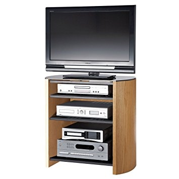 Innovative Series Of Oak Veneer TV Stands Within Light Oak Veneer Tv Stand For Screens Up To 37 Inch Amazoncouk (Image 31 of 50)