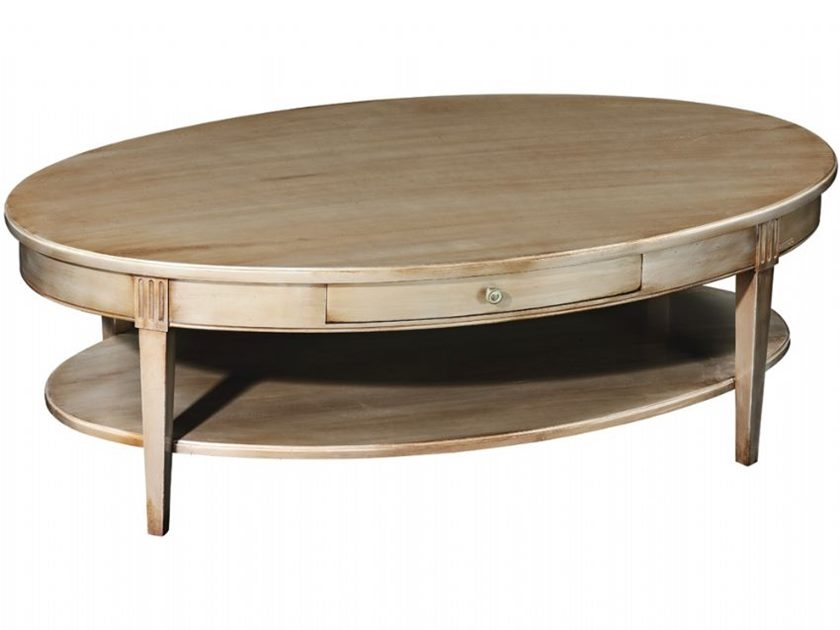 Innovative Series Of Oval Shaped Coffee Tables Inside Beautiful Wood Oval Coffee Table (View 11 of 50)