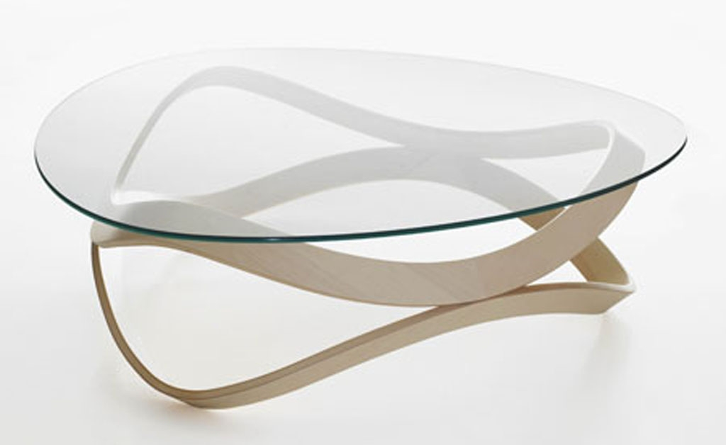Innovative Series Of Oval Shaped Glass Coffee Tables Inside Small Glass Coffee Tables Create Accessible Home Ideas Homesfeed (Image 31 of 50)