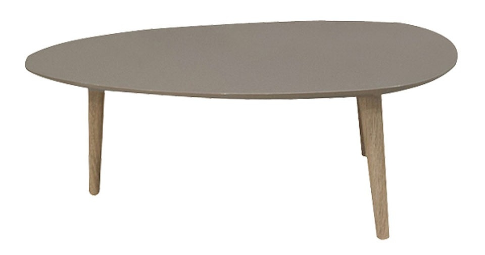 Innovative Series Of Sixties Coffee Tables Inside Sixties Coffee Table In Taupe Top And Oak Legs  (Image 25 of 39)
