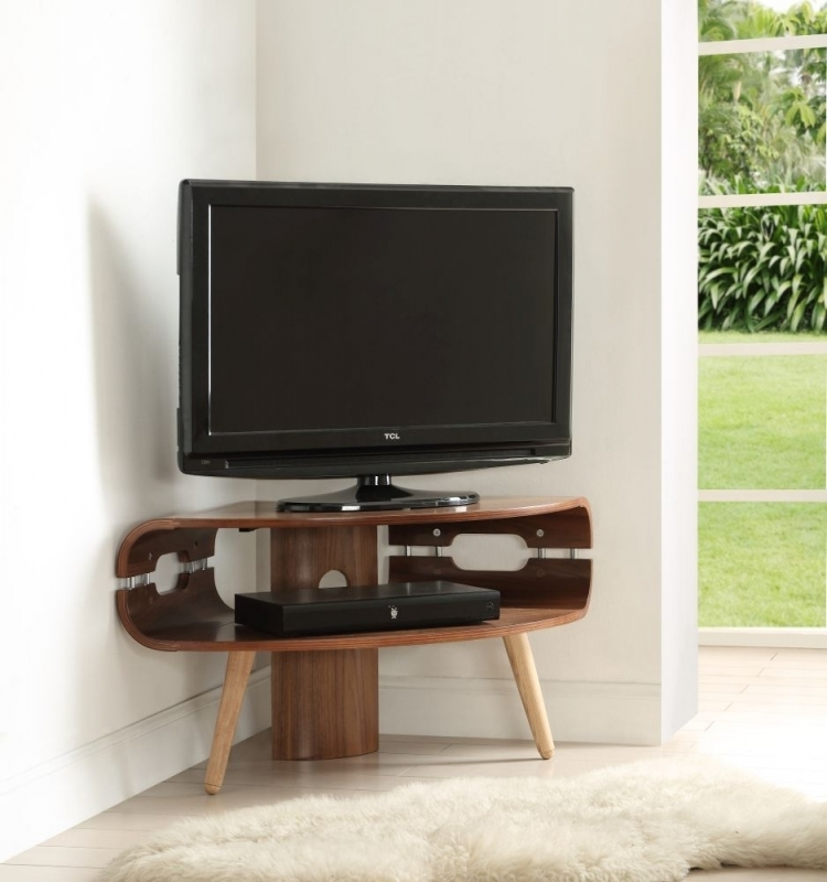 Innovative Series Of Walnut Corner TV Stands In Buy Jual Walnut Corner Tv Stand Jf701 Online Cfs Uk (Image 39 of 50)