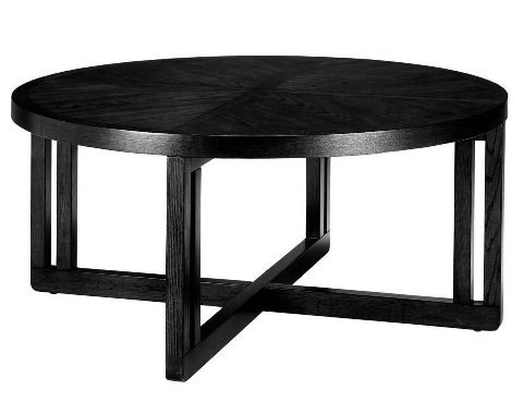 Innovative Top Big Black Coffee Tables Regarding Coffee Tables Ideas Awesome Round Coffee Tables Black Round (Image 32 of 50)