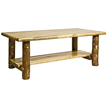 Innovative Top Country Coffee Tables In Amazon Montana Woodworks Collection Glacier Country Log (View 28 of 50)