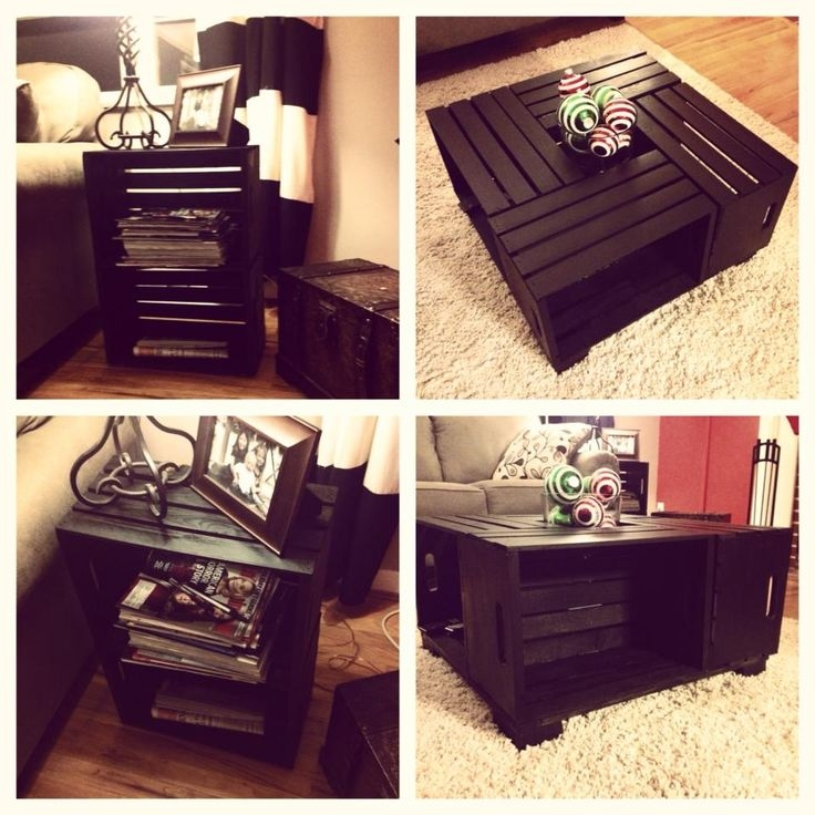 Innovative Top High Coffee Tables In 25 Best Crate Coffee Tables Ideas On Pinterest Wine Crate (Image 35 of 50)
