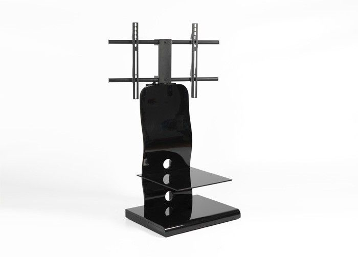 Innovative Top Iconic TV Stands Pertaining To 61 Best Black Glass Tv Stands Images On Pinterest Cable (View 7 of 50)