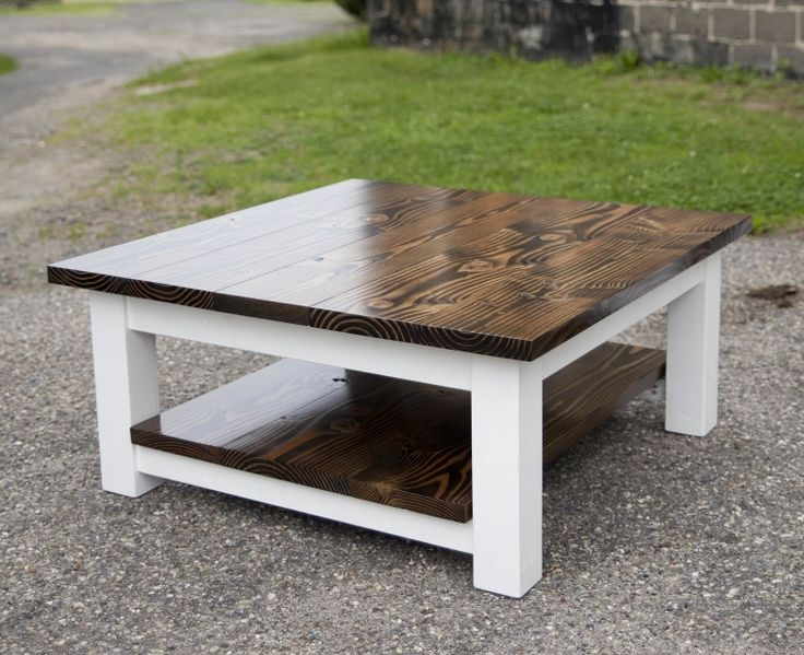 Innovative Top Large Rustic Coffee Tables In Best 25 Large Square Coffee Table Ideas On Pinterest Large (View 23 of 50)