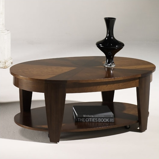 Innovative Top Oval Shaped Coffee Tables In Oval Coffee Tables Oval Coffee Tables Sm 231 Table In Black Wenge (View 25 of 50)