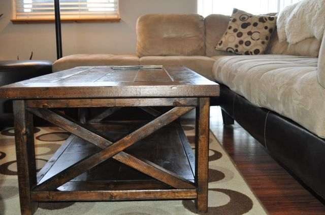 Innovative Top Rustic Style Coffee Tables Inside Living Room The Rustic Farmhouse Coffee Table Sawdust 2 Stitches (View 20 of 50)