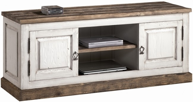 Innovative Top Shabby Chic TV Cabinets Inside Provence Shab Chic Tv Cabniet Vintage White (View 5 of 50)