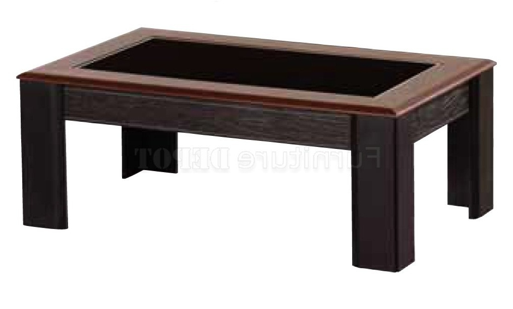 Innovative Top Square Dark Wood Coffee Table Regarding Coffee Table Uk Wood (Image 30 of 40)
