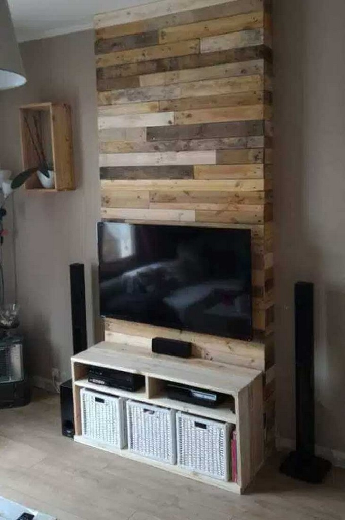 how to build a 42 inch corner tv stand