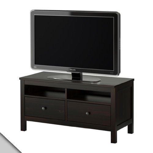 Innovative Trendy Black TV Stands With Drawers Intended For Amazon Ikea Hemnes Tv Unit Black Brown Electronics (Image 36 of 50)