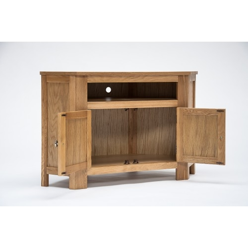 Innovative Trendy Corner TV Cabinets For Oak Corner Tv Cabinet With Cupboard (Image 32 of 50)