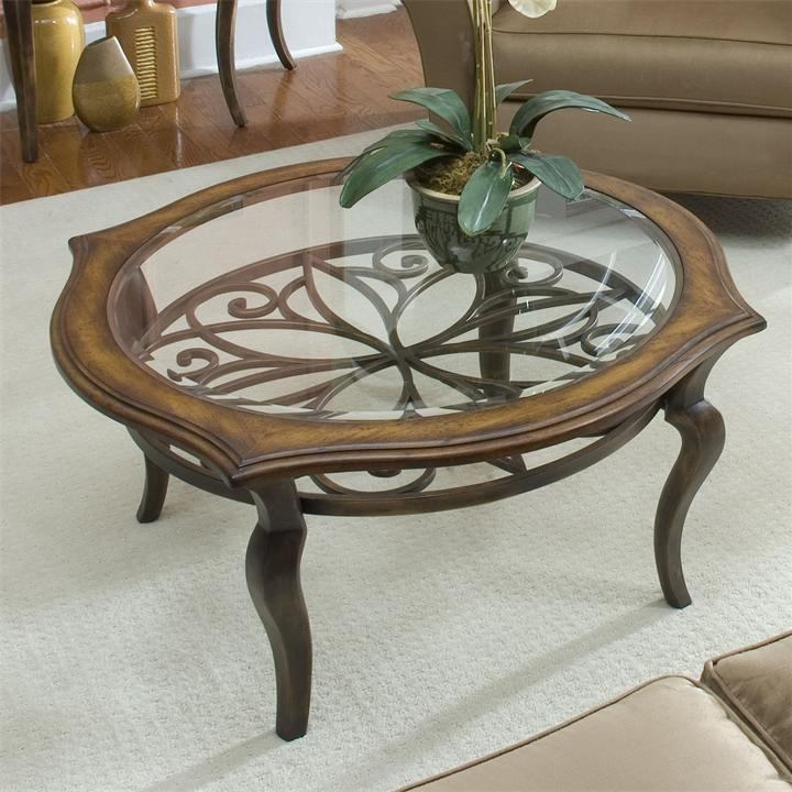 Innovative Trendy Glass Metal Coffee Tables Intended For Stunning Round Glass Coffee Table (Image 40 of 50)