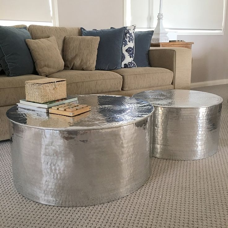 Innovative Trendy Hammered Silver Coffee Tables In 8 Best Living Room Images On Pinterest Live Coffee Tables And (Image 33 of 50)