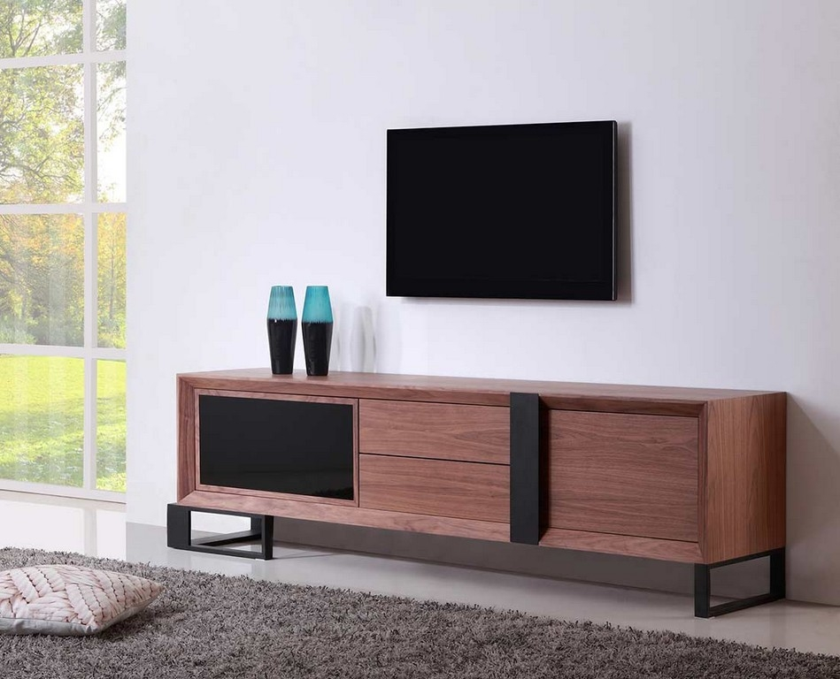 Innovative Trendy Long Black TV Stands In 55 Inch Tv Stand Ikea (View 40 of 50)