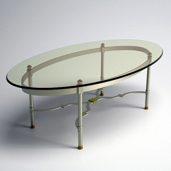 Innovative Trendy Oval Glass Coffee Tables For Coffee Table Oval Glass Coffee Table Available Also In Painted (View 9 of 50)