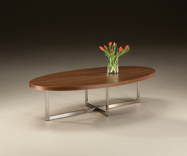 Innovative Trendy Oval Shaped Coffee Tables For Oval Modern Coffee Table Table And Estate (View 8 of 50)