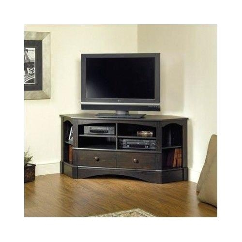 Innovative Trendy Pine Corner TV Stands In Rustic Corner Tv Stand Effluvium (Image 33 of 50)