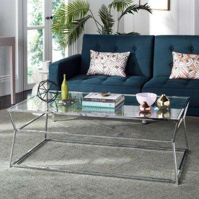 Innovative Trendy Safavieh Coffee Tables In Safavieh Coffee Table Silver Metallic Accent Tables Living (Image 35 of 50)