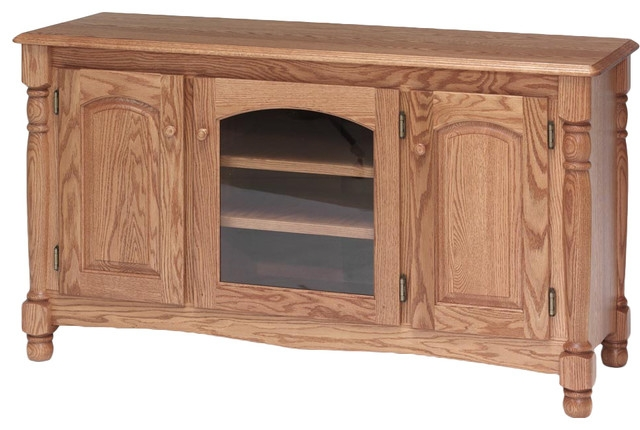 Innovative Trendy Solid Oak TV Stands With Country Trend Solid Wood Oak Tv Stand Traditional (View 10 of 50)