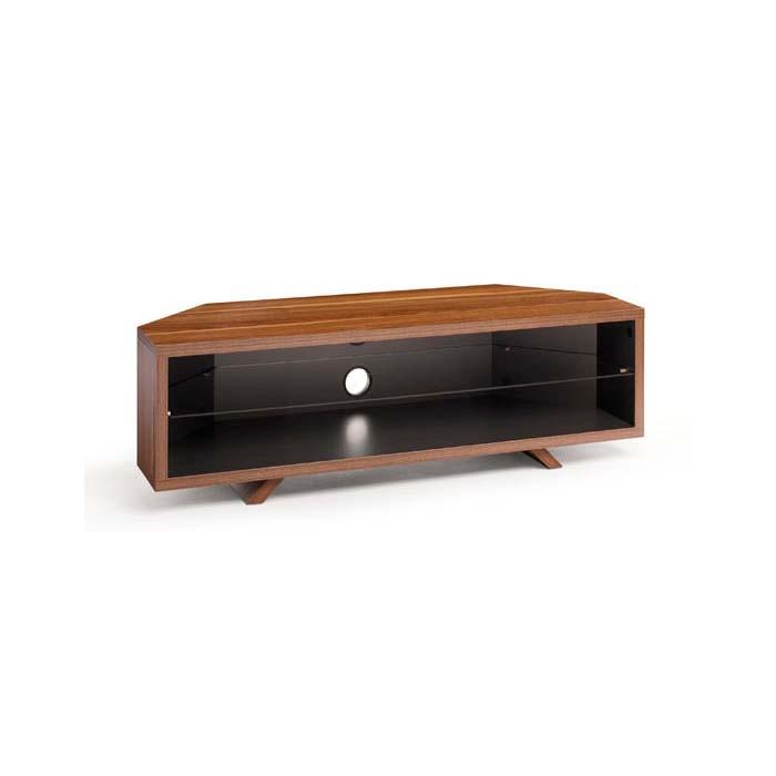 Innovative Trendy Techlink Corner TV Stands Regarding Techlink Dual Corner Series 55 In Tv Stand Dark Oak And Satin (Image 30 of 50)