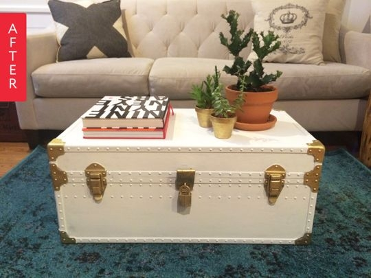 Innovative Trendy Trunk Chest Coffee Tables Throughout Best 25 Trunk Table Ideas On Pinterest Vintage Suitcase Table (View 34 of 50)