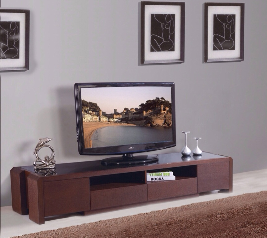 Innovative Trendy TV Stands For Plasma TV Throughout Matt Plasma Tv Stand Veneer Wood Plasma Tv Stand Wall Units (Image 33 of 50)