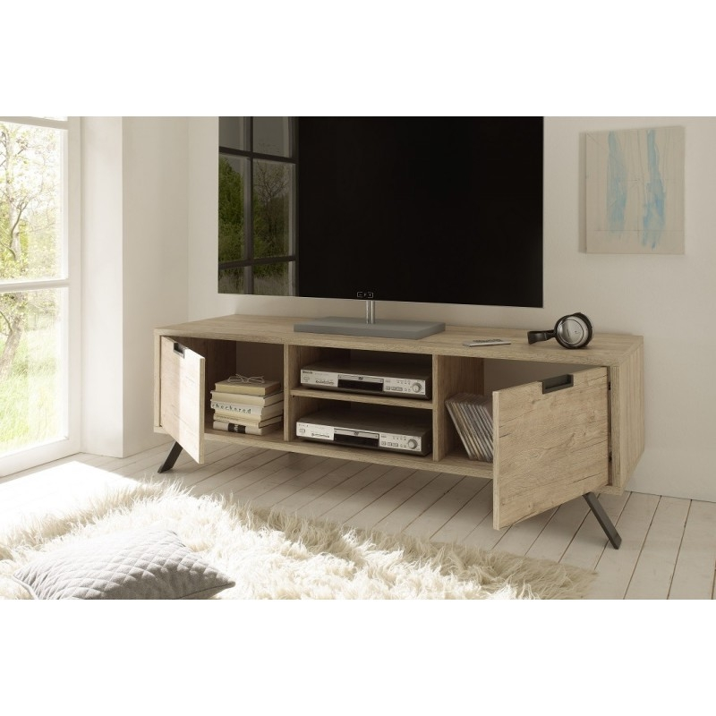 Innovative Trendy White Wooden TV Stands For Tv Stands Glamorous Tv Stand Oak 2017 Design Corner Tv Units Oak (Image 29 of 50)