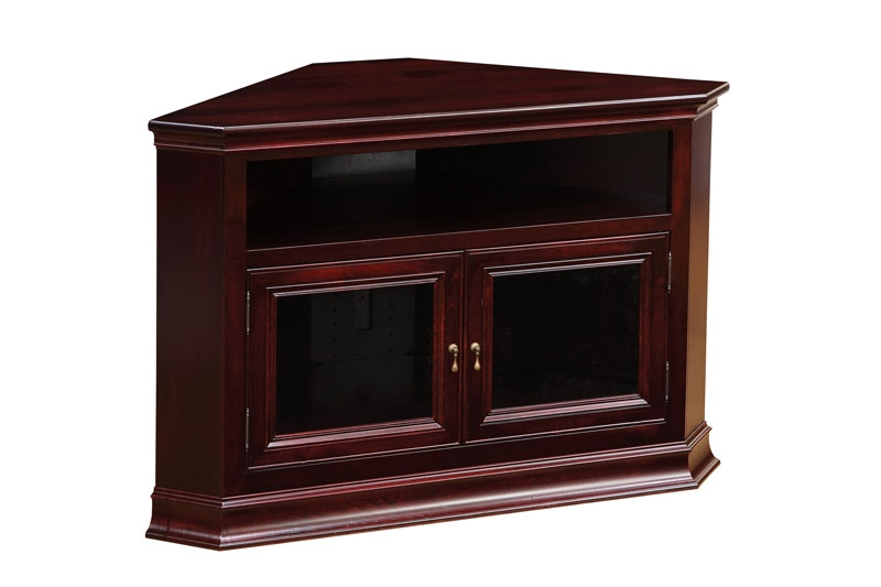 Innovative Trendy Wooden Corner TV Cabinets Pertaining To Tv Stands Ohio Hardword Upholstered Furniture (Image 26 of 50)