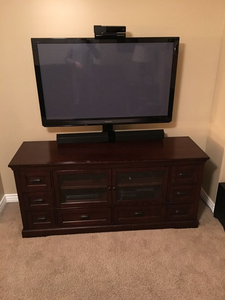 Innovative Unique Dark Wood TV Stands For Best 25 Dark Wood Tv Stand Ideas On Pinterest Rustic Tv Stands (View 2 of 50)