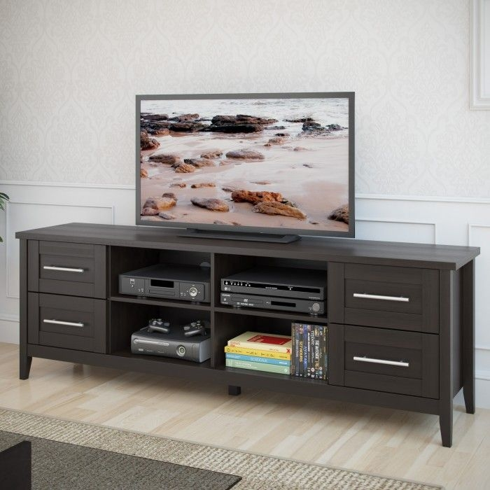 Innovative Unique Espresso TV Cabinets Throughout 100 Best Tv Stands Images On Pinterest Tv Stands Entertainment (Image 34 of 50)