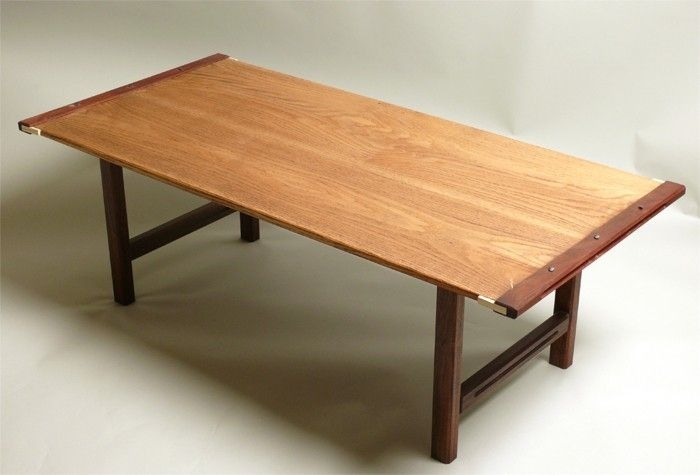 Innovative Unique Mahogany Coffee Tables With Hand Made Oak Mahogany Coffee Table Wyckoff Woodworks (Image 30 of 50)