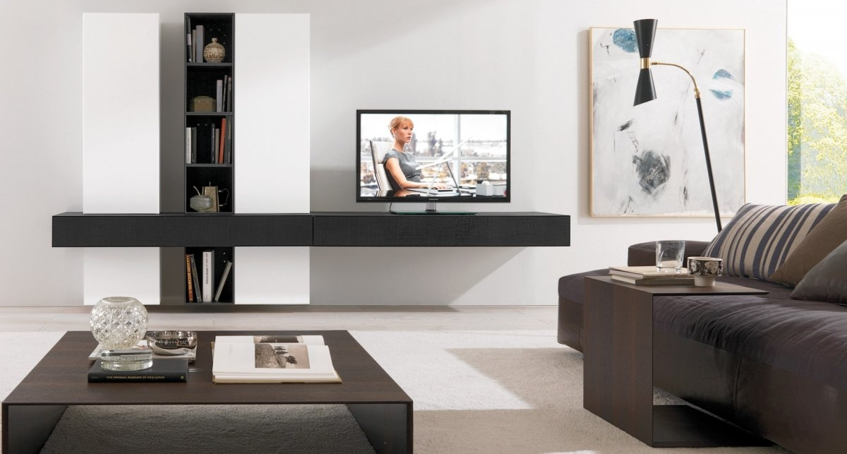 Innovative Unique Modern Wall Mount TV Stands For To Wall Mounted Tv Stand Home Designing (Image 33 of 50)