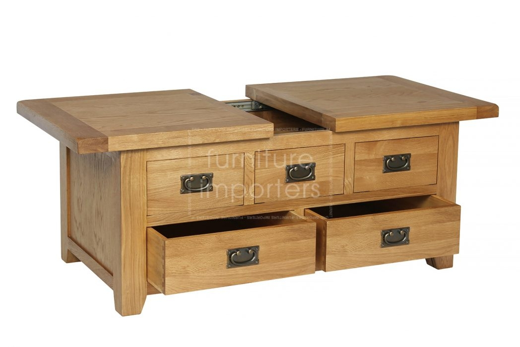 Square Oak Coffee Tables Coffee Table Ideas