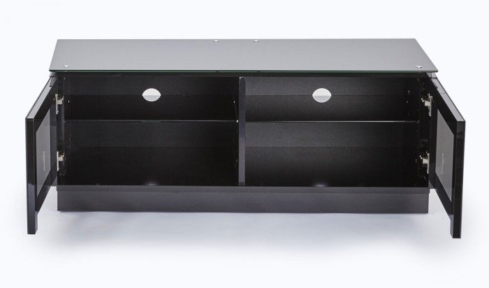 Innovative Variety Of Black TV Cabinets For Mmt Diamond D1120 Gloss Black Tv Cabinet 1120mm Wide (Image 31 of 50)