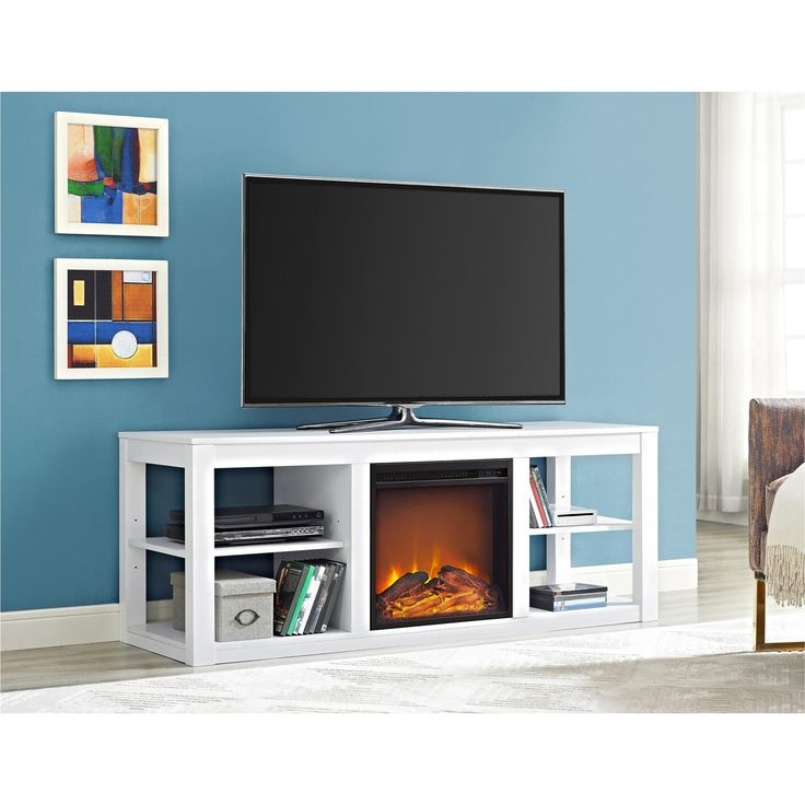 Innovative Variety Of Blue TV Stands Inside Tv Stands Brandnew Slim Tv Stand Black Color For Bedroom (Image 33 of 50)