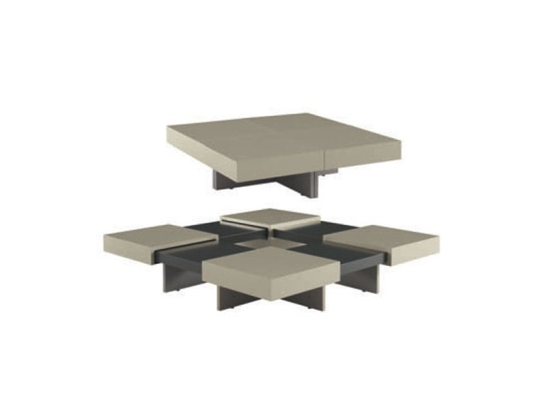 Innovative Variety Of Extendable Coffee Tables Inside Extending Oak Coffee Table Translation Ligne Roset (View 37 of 40)