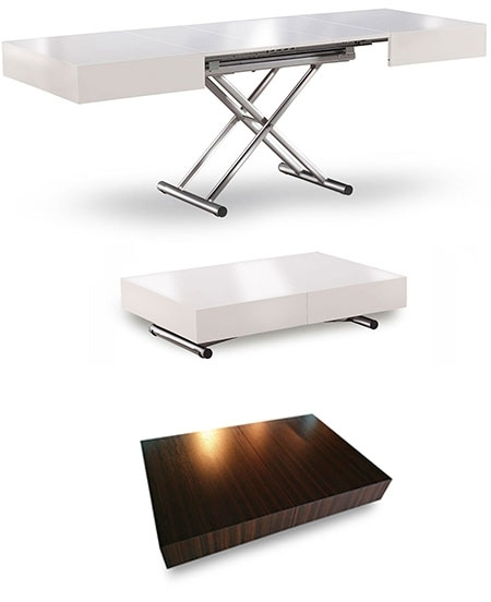 Innovative Variety Of Extendable Coffee Tables Within Extending Coffee Table Photo On Creative Home Design Style B (View 22 of 40)