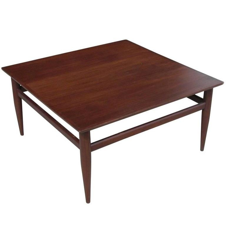 Innovative Variety Of Heritage Coffee Tables Throughout Vintage Mid Century Henredon Heritage Coffee Table For Sale At 1stdibs (Image 35 of 50)