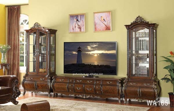 Innovative Variety Of Luxury TV Stands Intended For Luxury Royal 2m Antique Wooden Tv Stand Wa165 Buy Marble Tv (Image 36 of 50)