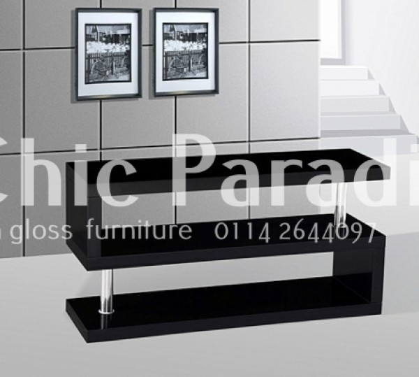 Innovative Variety Of Red Gloss TV Stands Regarding Buy Miami Cherry High Gloss Tv Stand In Stock 55 Off With Code (View 40 of 50)